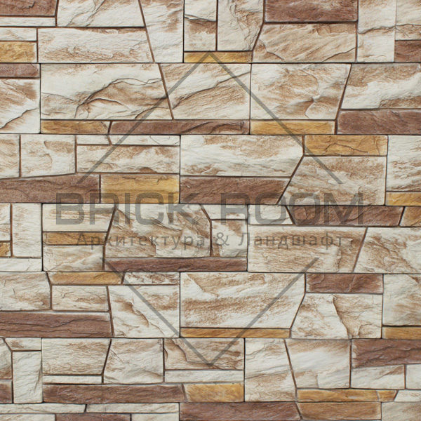 Декоративный камень Инверно Декоративный камень Памир 340-20