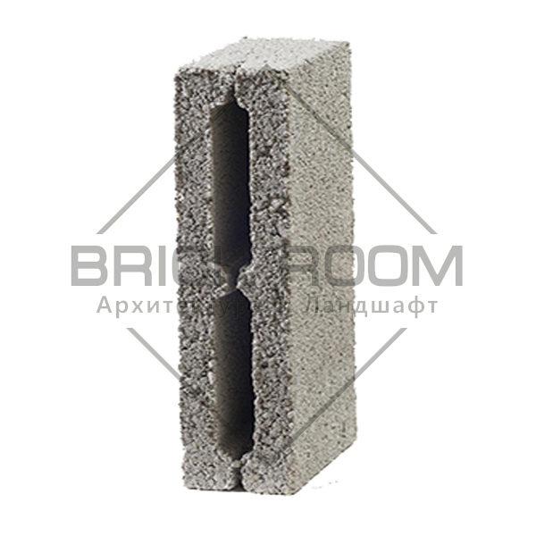 Отсевной блок перегородочный 2-х пустотный 390Х190Х120