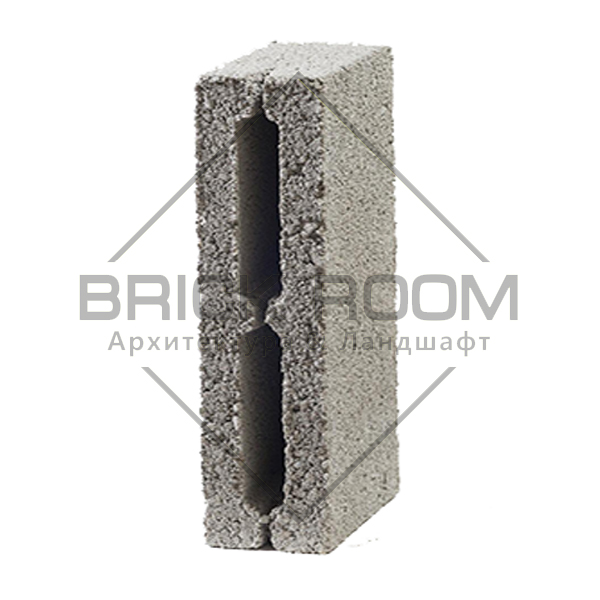 Купить керамзитовые 2-х пустотные перегородочные блоки 390Х190Х120  в Краснодаре