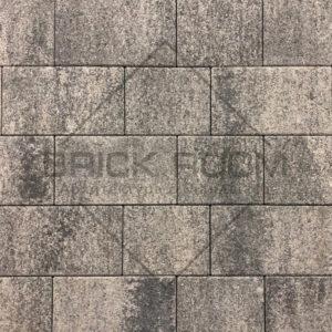 Тротуарная плитка Квадро «Базальт» гранит