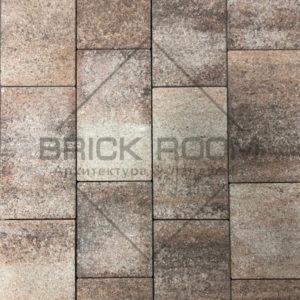 Тротуарная плитка Квадро «Либерика» гранит
