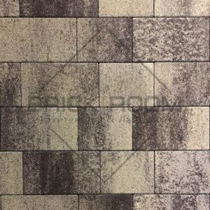 Тротуарная плитка Квадро «Алькантара» гранит