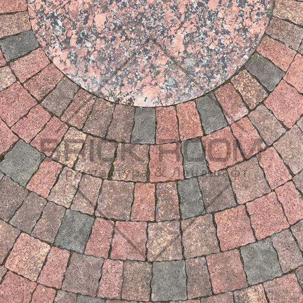 Тротуарная плитка Старая прага «Клинкер» гранит