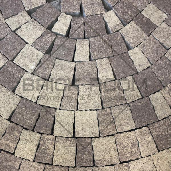 Тротуарная плитка Старая прага «Алькантара» гранит