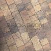 Тротуарная плитка Старая прага «Листопад» гранит