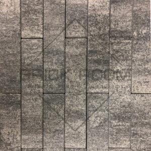Тротуарная плитка Паркет «Базальт» 600*120 мм
