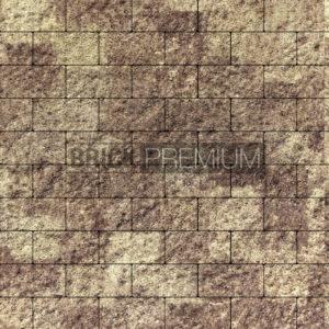 """Тротуарная плитка """"Платцстоун"""" 100*200*65 мм, гранит, цвет Алькантара"""